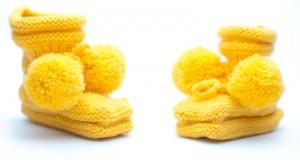 вязанная одежда для новорожденных
