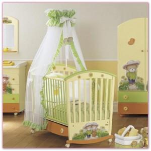 детские кроватки новорожденным