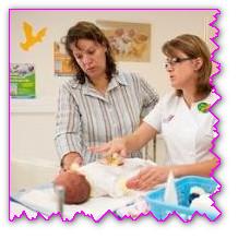 Новорожденный ребенок — уход в роддоме