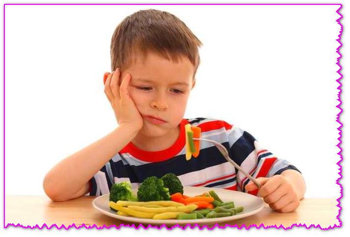 как ребенка заставить кушать