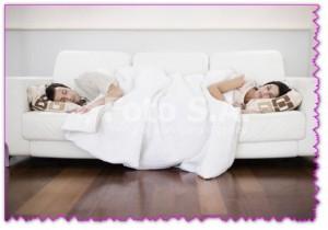 когда муж и жена спят раздельно