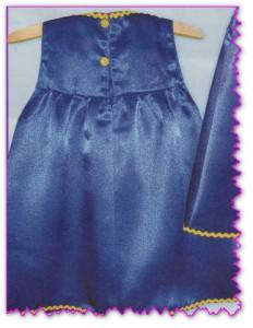 выкройка летнего платья для девочек