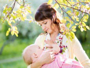 Грудное кормление ребенка